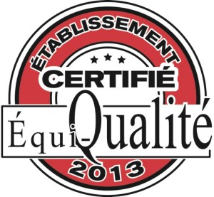 Certifié Équi-Qualité.